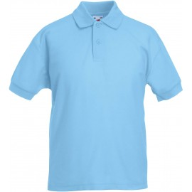 SC63417 - 65/35 Kids' polo shirt zwart