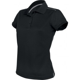 PA481 - Damessportpolo zwart