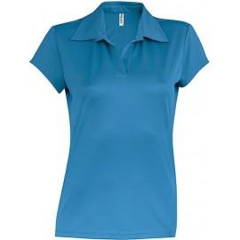 PA483 - Damessportpolo aqua blue