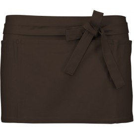 K886 - APRON - KELNERSCHORT chocolate