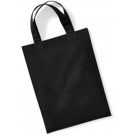 W103 - Cotton Party Bag for Life zwart